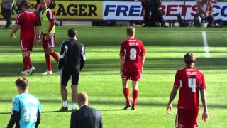 preview picture of video 'Post Match - Preston North End vs Swindon Town FC 02.09.12'