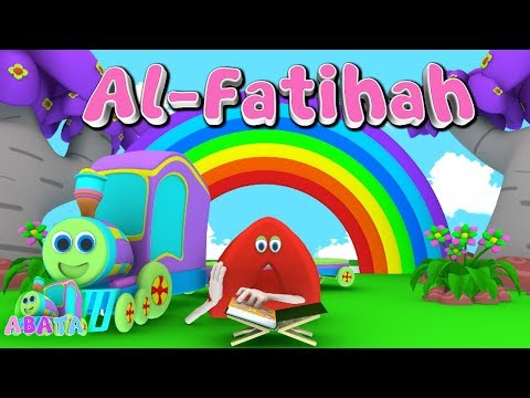 Animation 3D Juz Amma Al-Fatihah   Recite Quran with Battar Train Hijaiyah   ABATA Channel