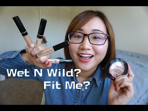 熱門美國開架遮瑕評比 wet n wild Photo Focus Concealer vs. Maybelline Fit Me (加映粉餅心得與簡易色號討論)|TinyTinna