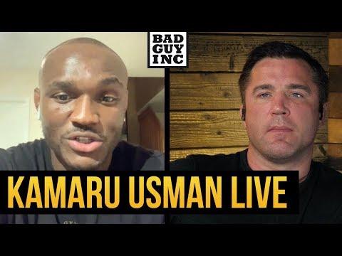 UFC Welterweight Champ Kamaru Usman talks Colby Covington...