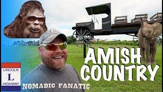 Amish, Elephants, Bigfoot, & Haunted Confederate HQ