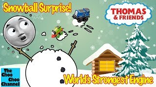 Snowball Surprise!   World's Strongest Engine   Thomas And Friends Toy Trains