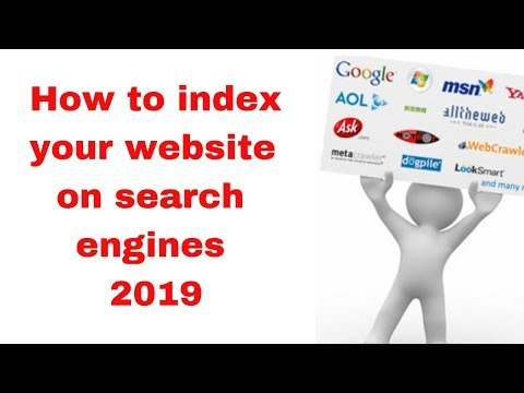How to index your website on search engines 2019
