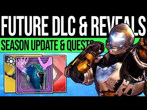 Destiny 2 | DLC REVEALS & EVENT QUESTS! Season 7 Updates, Free Exotic Quest, Damage Glitch & More!