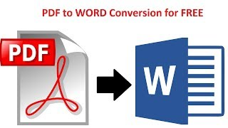 How To Convert PDF To Word Without Software Online OCR   100% FREE