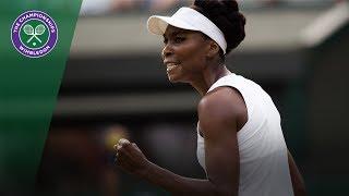 Venus Williams v Naomi Osaka highlights - Wimbledon 2017 third round
