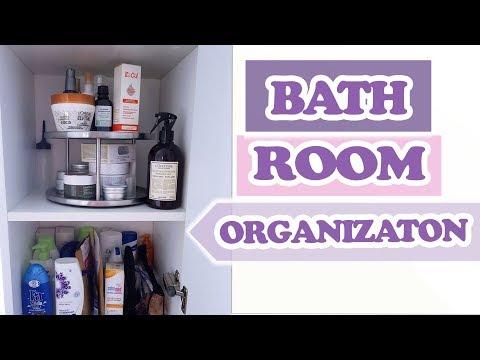 Badezimmer organisieren: Meine Tipps für mehr Stauraum im Bad! BATHROOM ORGANIZATION