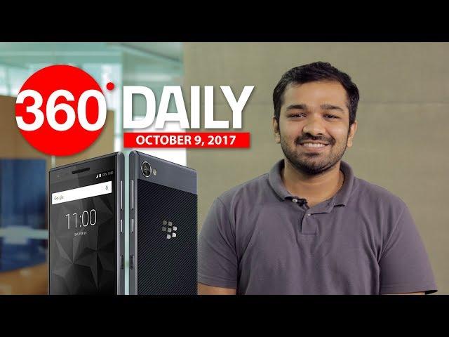 Jio 4G Download Speeds, BlackBerry Motion Launch, WhatsApp