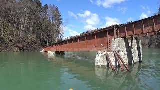 北海道夕張市鹿島明石町 シューパロ湖