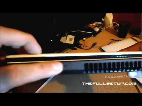 asus x401a unboxing hd