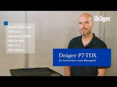 Webinar Dräger P7-TDX für Druck- und Dichtheitsmessungen