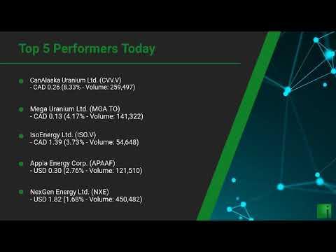 InvestorChannel's Uranium Watchlist Update for Tuesday, De ... Thumbnail