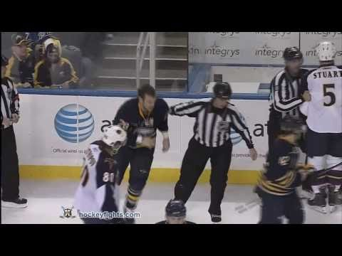 Paul Gaustad vs. Mark Stuart
