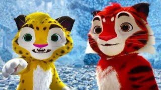 Лео и Тиг #6 Маленькая вьюжка / История героя в Таинственной пещере. Игра про мультфильм для детей