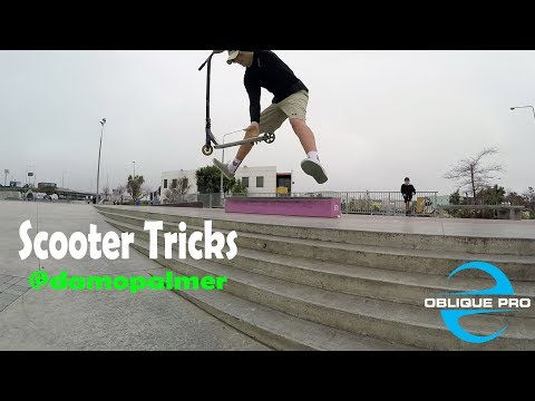 Scooter Tricks by @damopalmer