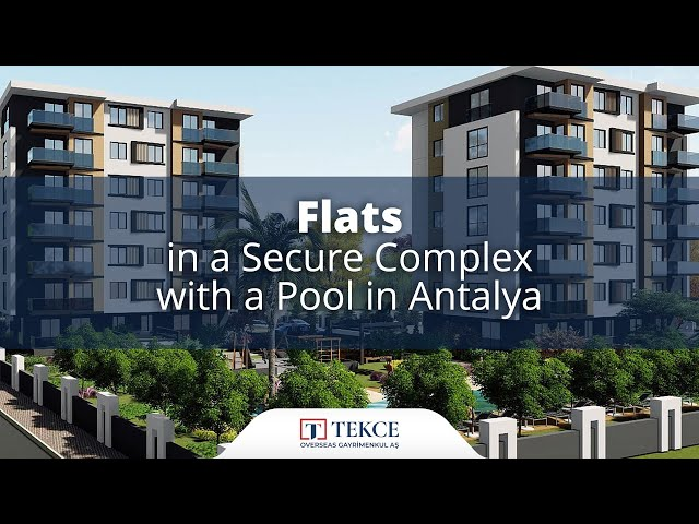 Luxurious Flats with a Flexible Payment Plan in Antalya
