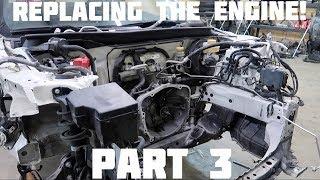 Rebuilding Wrecked 2016 Subaru BRZ Part 3