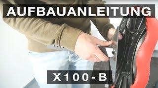 SPORTSTECH X100-B Ergometer - Aufbauanleitung/construction/structure/estructura/struttura