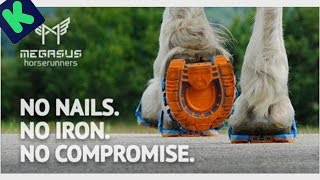 New invention Megasus Horserunners - For Horses and Horse Lovers.
