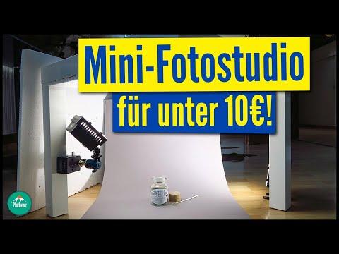 MINI-FOTOSTUDIO FÜR UNTER 10€! 😱💰 | Fotostudio selbst gemacht | TUTORIAL
