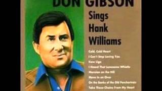 Don Gibson- Sittin' Here Cryin'