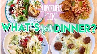WHAT'S FOR DINNER? DINNER IDEAS + RECIPES AUGUST 2019