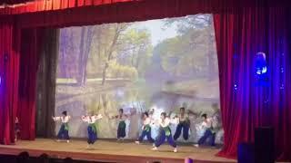 Танец - Кукушка. Алина со своим коллективом