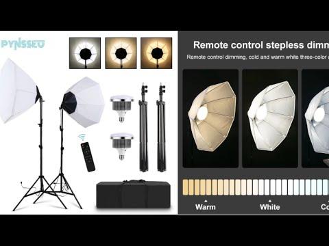 Набор осветительного оборудования для фото и видеосъемки PYNSSEU