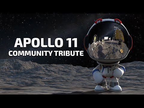 Kerbal Space Program | Apollo 11 Community Tribute | Part 2: Landing!