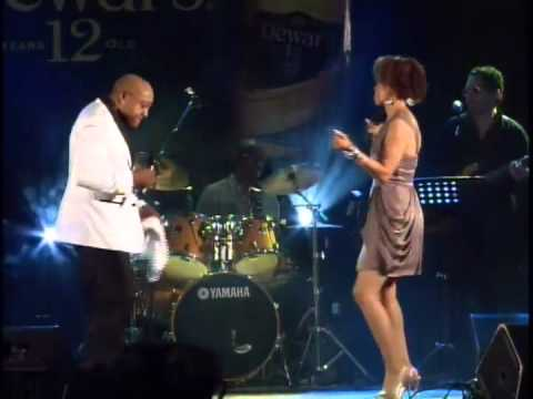 Peabo Bryson What You won't do For Love  Curacao May 2013 with Crosstown Traffic Band