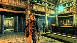 Доспехи стражи рассвета,арбалет.The Elder Scrolls V: Skyrim