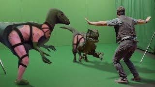 ДО и ПОСЛЕ спецэффектов - как снимали фильмы на самом деле