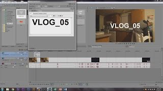 How To Edit Vlogs in Sony Vegas Pro 13