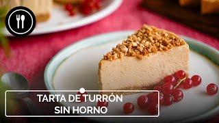 Cómo hacer una deliciosa TARTA de TURRÓN SIN HORNO