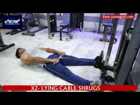 LYING CABLE SHRUGS