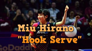 "Miu Hirano ""Hook Serve"" Analysis (Study case for coaching)"
