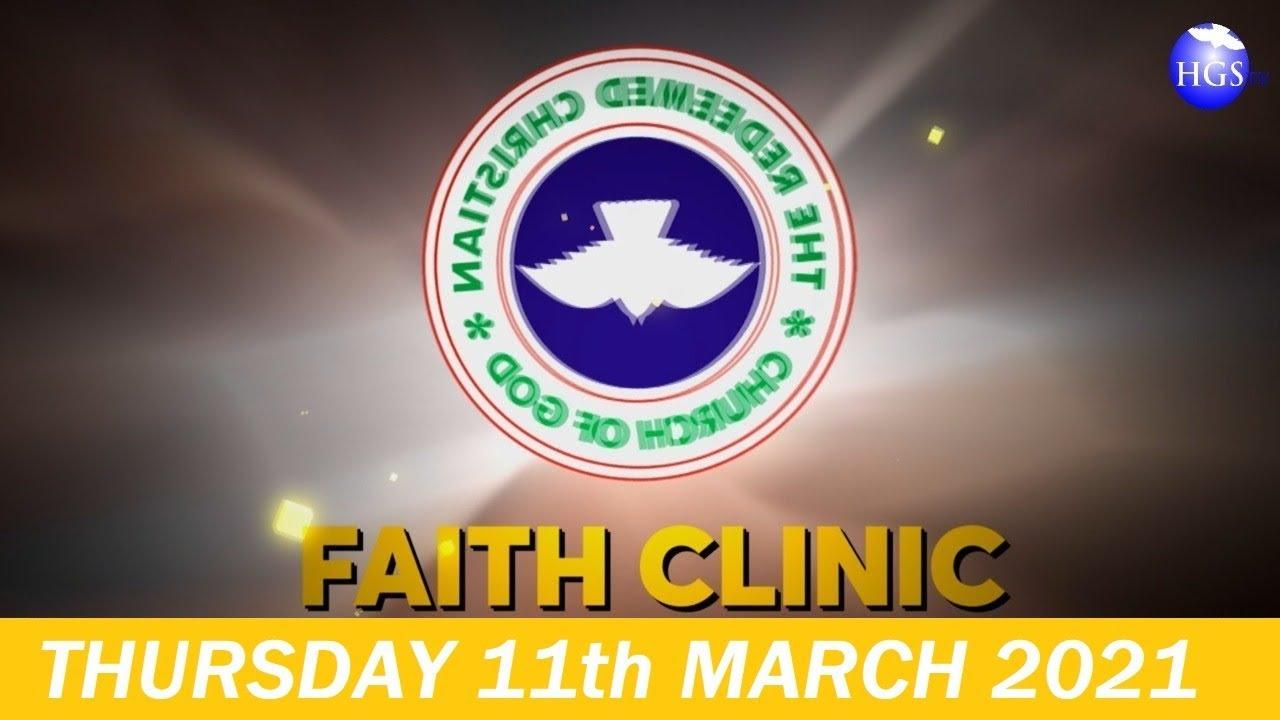 RCCG MATRC 11th 2021 Faith Clinic Live broadcast