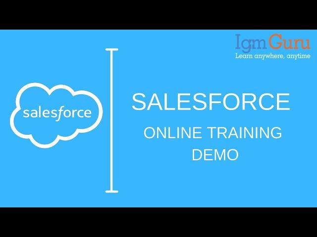 Salesforce Developer Certification Online Training Dev 501
