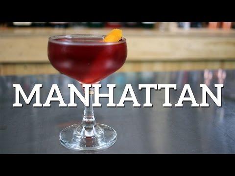 Video Manhattan Cocktail Recipe