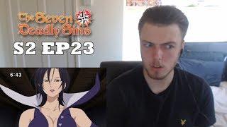 nanatsu no taizai season 2 episode 23 reaction - TH-Clip
