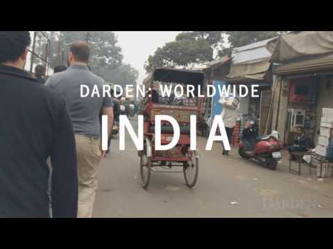 India Captivates Darden Students in 2017 Worldwide Course