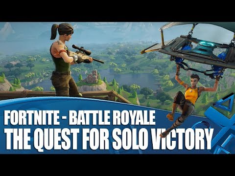Fortnite Battle Royale – The Quest For Solo Victory Royale