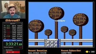 Mega Man NES speedrun in 22:37 by Arcus