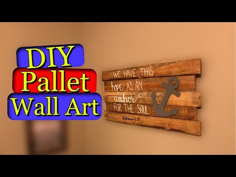 Pallet Wall Art (DIY)