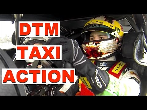 Audi RS5 DTM Race Taxi Action in Hockenheim - Daniel Abt