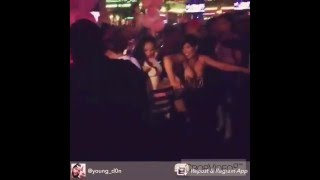 Cardi B dancing to UberMan record at CityScapes Gentlemen's Club in Queens NY