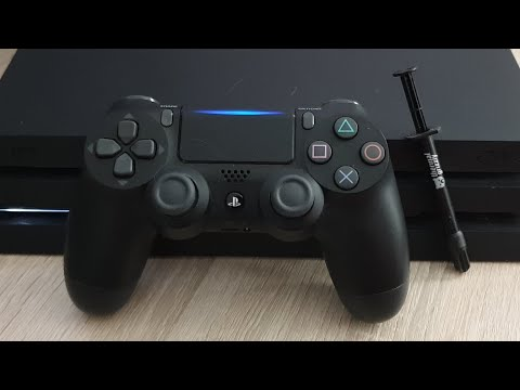 PS4 Pro (CUH - 7016B) Fan Noise Reduction With Liquid Metal