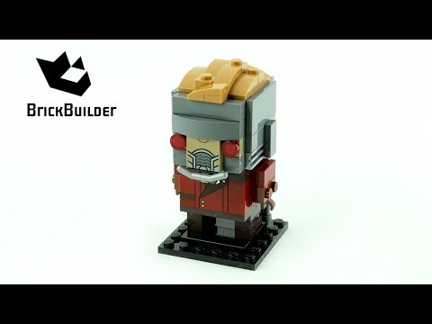 Vidéo LEGO BrickHeadz 41606 : Star-Lord