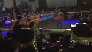 preview picture of video 'Carnaval Valladolid Yuc.LAS NENAS DEL MERENGUE 1-2'