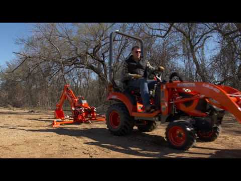 2019 Kubota Sub-Compact Tractor BX1880 in Beaver Dam, Wisconsin - Video 3
